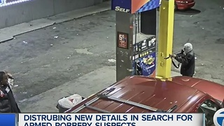 Gas station hold up caught on video - Video