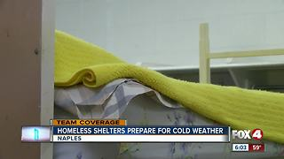 Homeless shelters adding beds for cold weather - Video