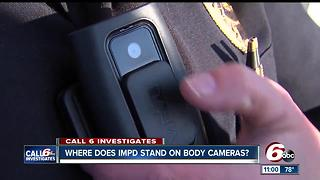 Cost, maintenance hinders IMPD from body camera usage - Video