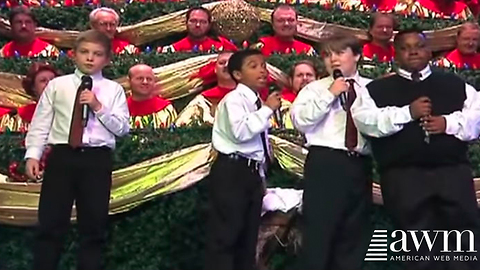 Church Crowd Bursts Out Laughing When Boy In The Vest Steps Up For His Solo