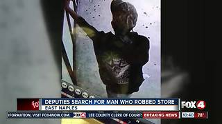 Robber Targets East Naples Convenience Store - Video