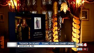 Titanic Costume Exhibit Opens - Video