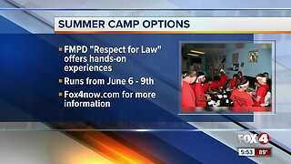 Summer camp options in swfl