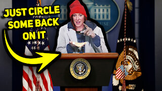 Jen Psaki Dodges Questions & Lies About Trump