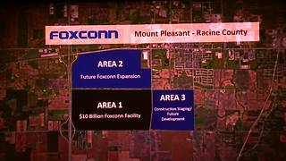 Foxconn plant renderings released at Walker's contract signing - Video