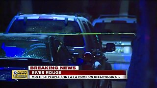 Multiple people shot at home on Beechwood Street in River Rouge