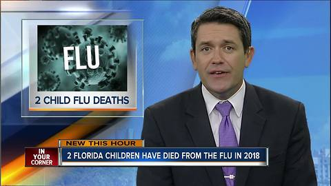 Two Florida children have died from the flu this year