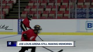 Joe Louis Arena still making memories - Video