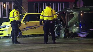 2 arrested, several people hurt after car crashes fleeing from police