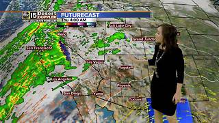 Temperature climb back into 80s this week - Video