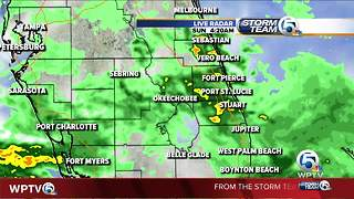 Early Sunday morning forecast - Video