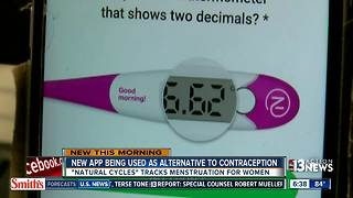 New app could be alternative to birth control pill - Video