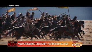 Mulan in Live Action Streaming on Disney +