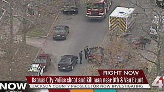 Police shoot & kill man near 8th and Van Brunt - Video