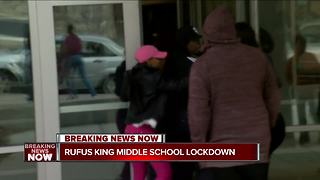 'Subject with a gun' reported at Rufus King Middle School