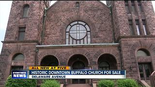 Historic Downtown Buffalo church up for sale - Video