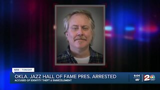 Oklahoma Jazz Hall of Fame president arrested, accused of embezzlement