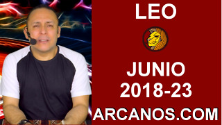 HOROSCOPO LEO-Semana 2018-23-Del 3 al 9 de junio de 2018-ARCANOS.COM - Video