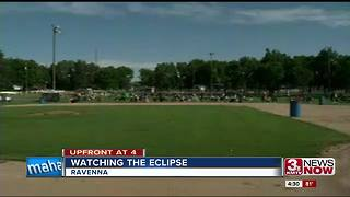Ravenna celebrates the eclipse 4p.m. - Video