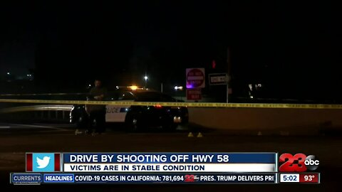 Two drive-by shootings on and off Highway 58