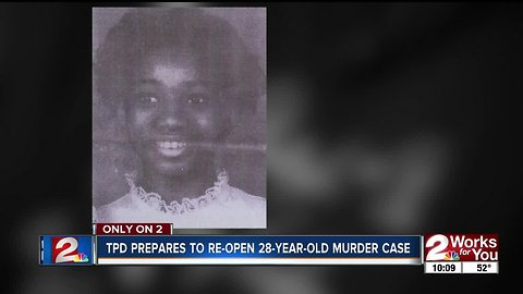 Tulsa Police Department plans to re-open 28-year-old case of teenager shot and thrown in ditch
