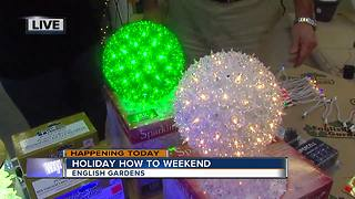 English Gardens Holiday How To Weekend - Video