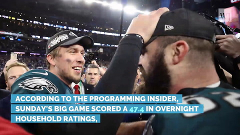 Super Bowl LII Ratings Hit Eight-Year Low