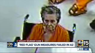 Could guns have been taken from home where elderly woman killed her son?