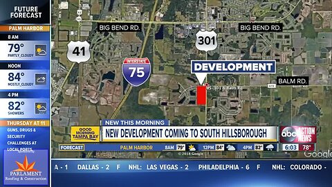 New shopping center coming to south Hillsborough Co.