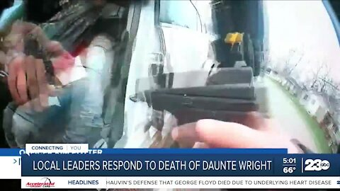 Bakersfield pastors react to shooting death of Daunte Wright