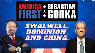 Swalwell, Dominion, and China. Gordon Chang with Sebastian Gorka on AMERICA First