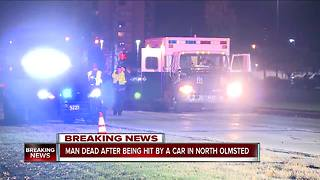 North Olmsted man struck, killed crossing the street