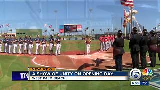 Baseball is back in Palm Beach County - Video