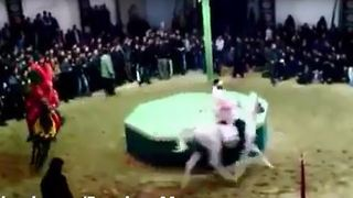 Ashura rituals turned into chaos in Iran - Video