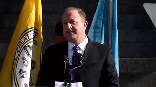 Gov. Jared Polis delivers inauguration address