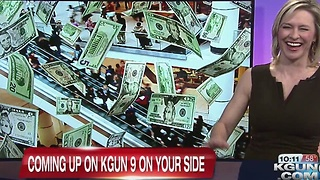 Chief Meteorologist Erin Christiansen KGUN 9 News at 10PM November 21, 2016 - Video