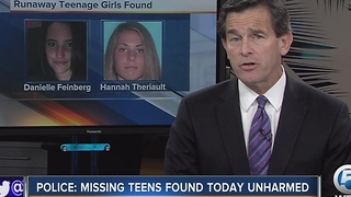 Police: Missing teens found today unharmed - Video