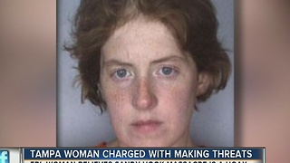 Tampa woman charged with making threats, believes Sandy Hook massacre is a hoax - Video
