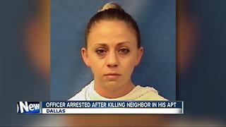 Dallas police officer arrested in death of neighbor
