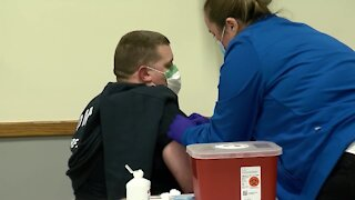 Omaha firefighters get COVID vaccine