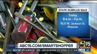 State surplus sale to be held on Friday - Video
