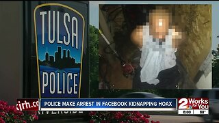 Tulsa Police make arrest in Facebook kidnapping hoax