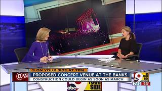 Proposed concert venue at The Banks - Video