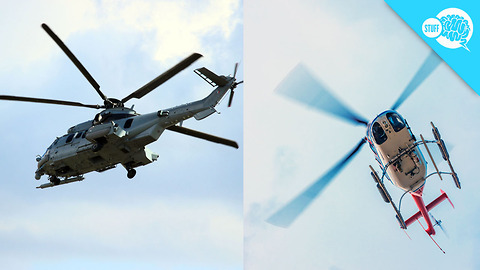 BrainStuff: Here's Why Helicopter Blades Can Look Strange On Video