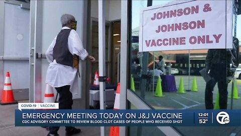 CDC to review blood clot cases of people who received J&J shot