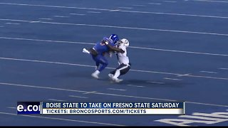 Boise State taking on the Fresno Bulldogs in Mountain West Championship