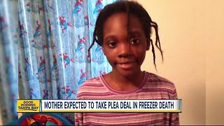 Mother expected to take plea deal in daughter's freezer death - Video