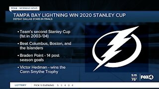 Tampa Bay Lightning wins Stanley Cup