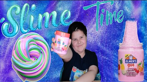 Elmer's Fruity Slushie Glue Slime Review