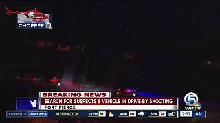 Fort Pierce police investigate drive-by shooting - Video